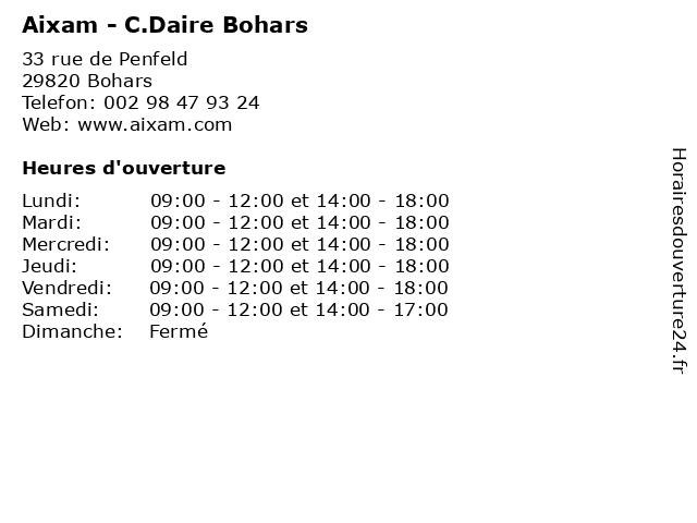 Aixam - C.Daire Bohars à Bohars: adresse et heures d'ouverture