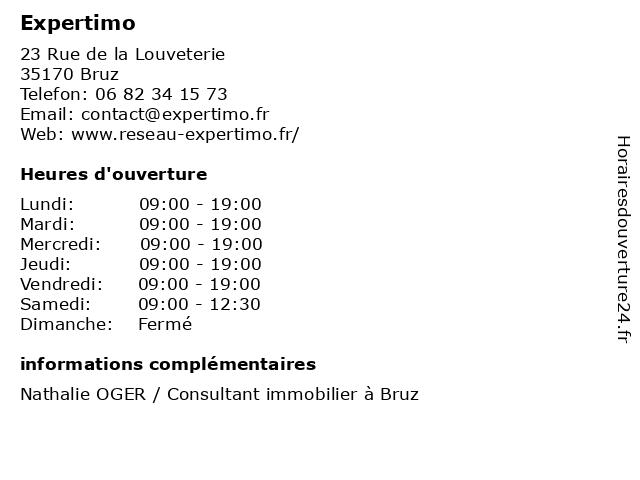 Expertimo à Bruz: adresse et heures d'ouverture