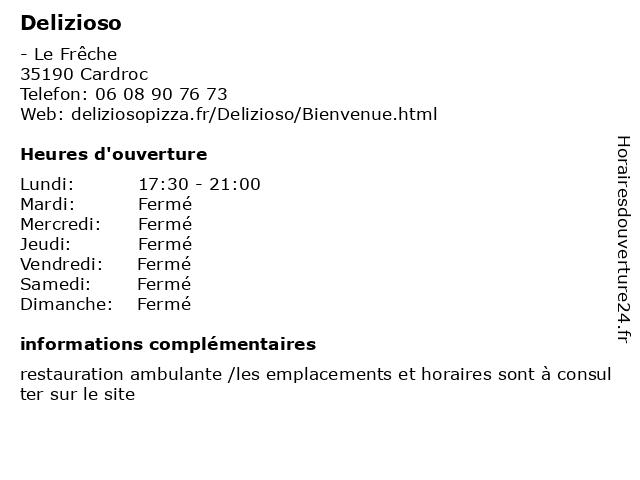 Delizioso à Cardroc: adresse et heures d'ouverture