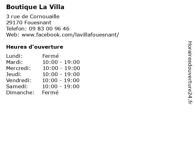 Babylone Bay à Fouesnant: adresse et heures d'ouverture
