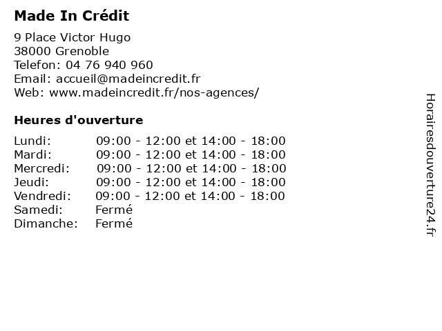 Green Acres (Adagio ) à Grenoble: adresse et heures d'ouverture