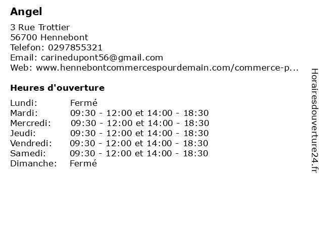 Nespresso (Angel) à Hennebont: adresse et heures d'ouverture