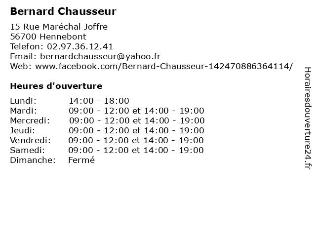 Pataugas à Hennebont: adresse et heures d'ouverture
