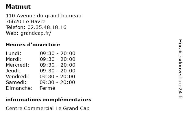 Matmut à Le Havre: adresse et heures d'ouverture