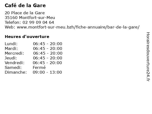 UPS Access Point à MONTFORT SUR MEU: adresse et heures d'ouverture