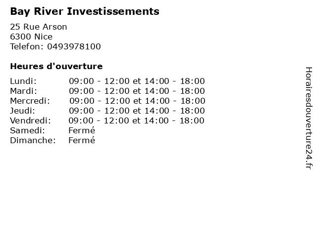 Green Acres - Bayriver Investissement à Nice: adresse et heures d'ouverture