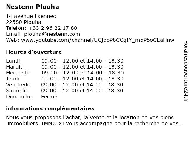 Nestenn Plouha à Plouha: adresse et heures d'ouverture
