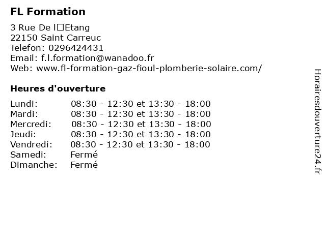 Bertrand Financiere à St Carreuc: adresse et heures d'ouverture