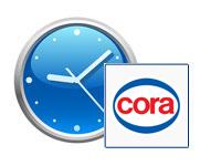 Horaires d'ouverture Cora