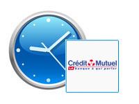 Horaires d'ouverture Crédit Mutuel