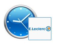 Horaires d'ouverture Leclerc